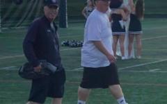 Coach Joe McCulloh, left